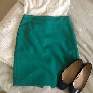 J. Crew Factory pencil skirt - wool blend - 8
